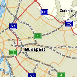 útvonalterv budapest térkép Útvonalterv.hu   VTOSz térkép útvonalterv budapest térkép